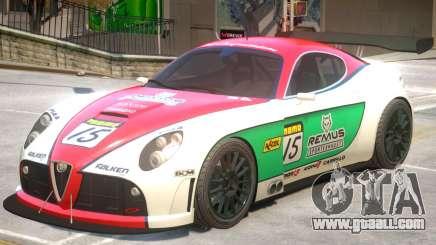 Alfa Romeo 8C V1 PJ3 for GTA 4