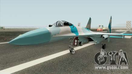 Sukhoi SU-27 (Flanker) for GTA San Andreas