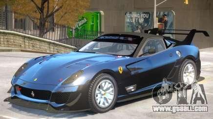 Ferrari 599 V1 for GTA 4