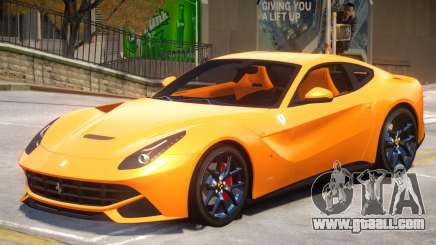 Ferrari F12 Berlinetta V1 for GTA 4