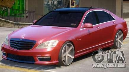 Mercedes Benz S65 W221 V1 for GTA 4