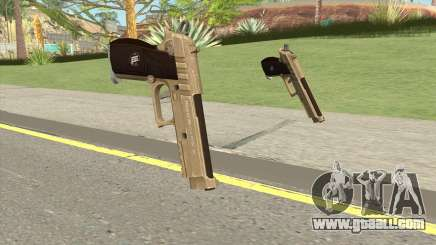 Hawk And Little Pistol GTA V (Army) V1 for GTA San Andreas