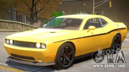 Dodge Challenger SRT V1.1 PJ1 for GTA 4