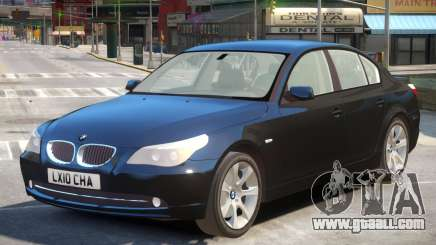 BMW 525d E60 V2 for GTA 4