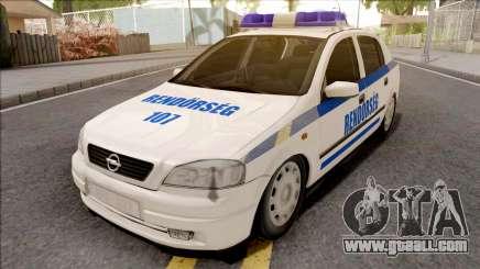 Opel Astra G Magyar Rendorseg for GTA San Andreas