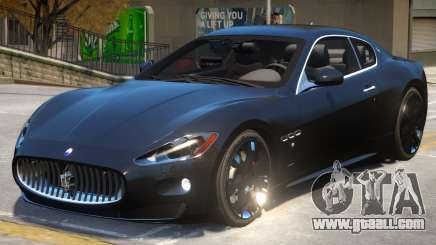2012 Maserati Granturismo V2 for GTA 4