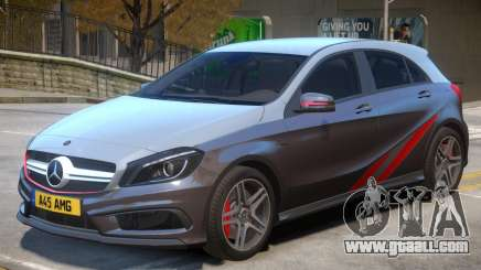 Mersedes Benz A45 V1 PJ3 for GTA 4