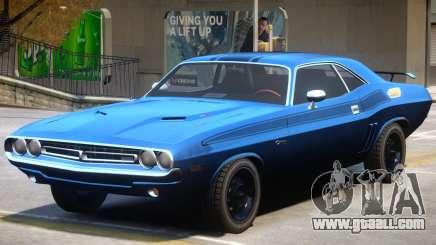 1971 Challenger V1.4 for GTA 4