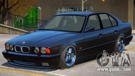 1995 BMW M5 E34 for GTA 4