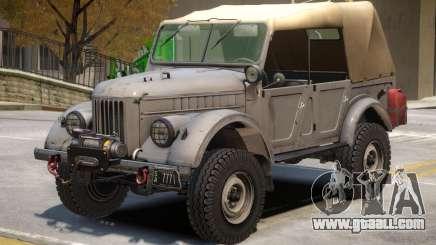 GAZ 69 V2 for GTA 4