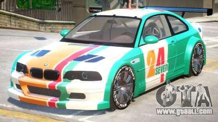 BMW M3 GTR PJ4 for GTA 4