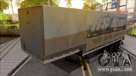 Trailer Americano v4 for GTA San Andreas