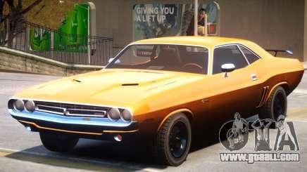 1971 Challenger V1 for GTA 4