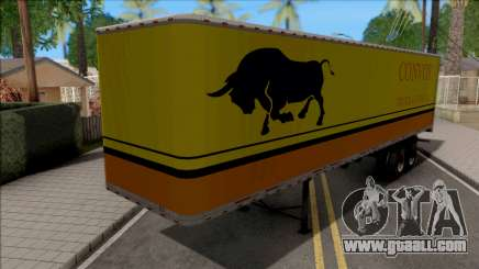 Trailer Livingston Truck Convoy for GTA San Andreas