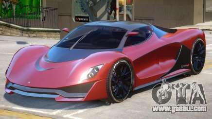 Grotti Turismo R V1 for GTA 4