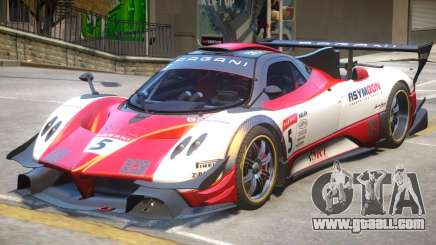 Pagani Zonda R PJ4 for GTA 4