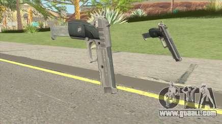 Hawk And Little Pistol GTA V Black (Old Gen) V2 for GTA San Andreas