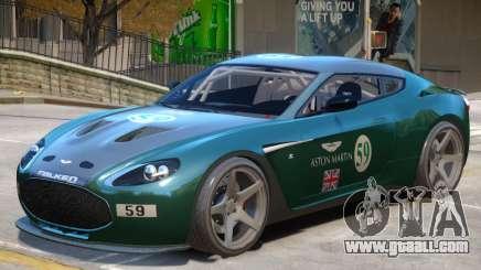 Aston Martin Zagato V1 PJ2 for GTA 4