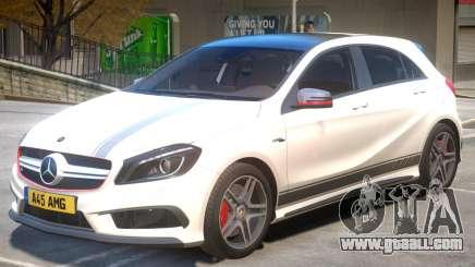 Mersedes Benz A45 V1 PJ1 for GTA 4