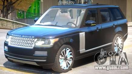 Range Rover Vogue V1.1 for GTA 4