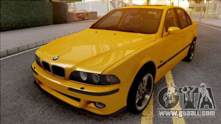 BMW M5 E39 Yellow for GTA San Andreas
