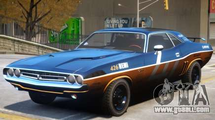 Dodge Challenger V1 PJ4 for GTA 4