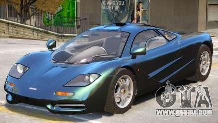 McLaren F1 V1 for GTA 4