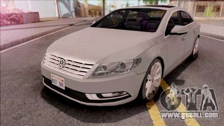 Volkswagen Passat CC 2010 Lowpoly for GTA San Andreas