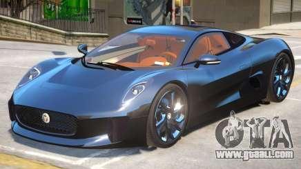Jaguar C-X75 V1.2 for GTA 4