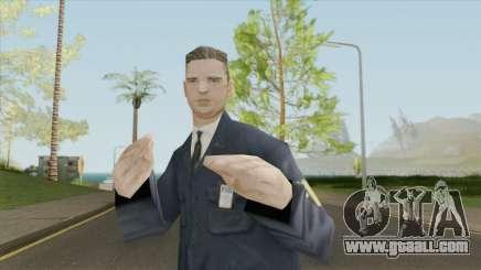 FIB Agent Skin for GTA San Andreas