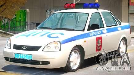 Lada Priora Police for GTA 4