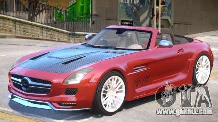 Mercedes Benz SLS Rodster PJ1 for GTA 4