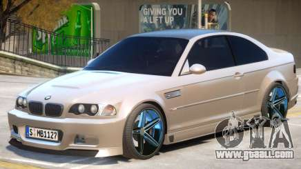 BMW M3 E46 R1 for GTA 4