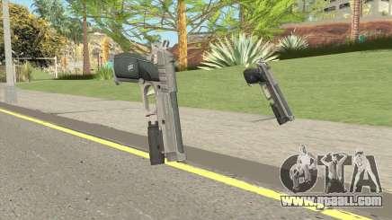 Hawk And Little Pistol GTA V Black (Old Gen) V4 for GTA San Andreas