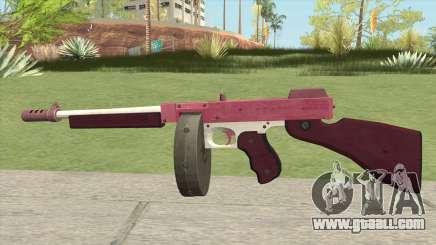 Edinburgh Gusenburg Sweeper GTA V (Pink) V1 for GTA San Andreas