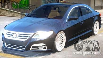 Volkswagen CC V1.1 for GTA 4