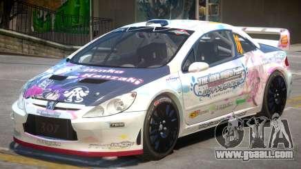 Peugeot 307 WRC PJ1 for GTA 4