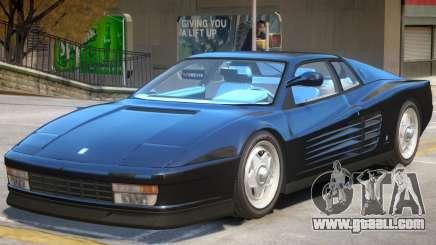 Ferrari Testarossa V1.1 for GTA 4