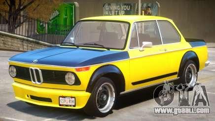 1973 BMW Turbo V1 for GTA 4