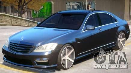 Mercedes Benz S65 Vossen for GTA 4