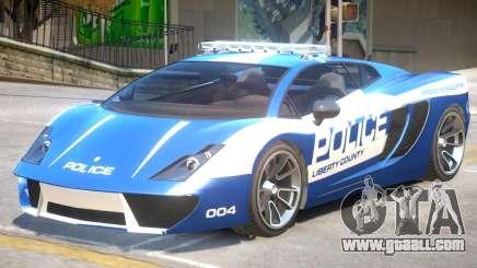 Pegassi Vacca Police V1 for GTA 4