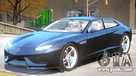 Lamborghini Estoque V1.2 for GTA 4