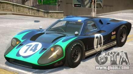 1967 Ford GT40 V1 PJ8 for GTA 4