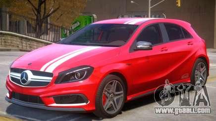 Mersedes Benz A45 V1 PJ5 for GTA 4