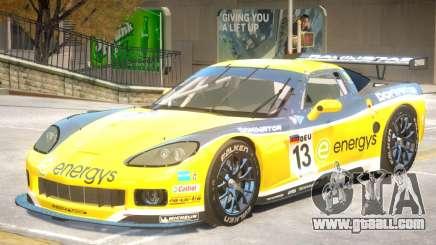 Chevrolet Corvette GT PJ2 for GTA 4
