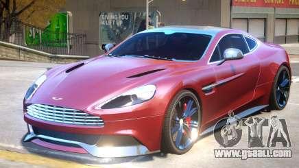 Aston Martin Vanquish V2 for GTA 4
