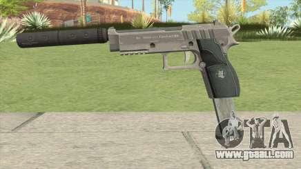 Hawk And Little Pistol GTA V Black (Old Gen) V7 for GTA San Andreas
