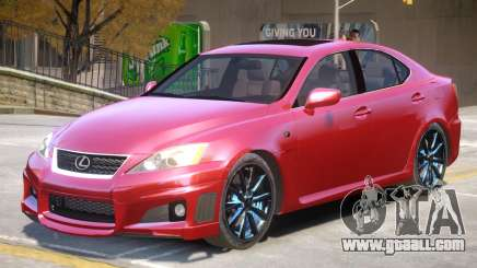 Lexus ISF Improved for GTA 4