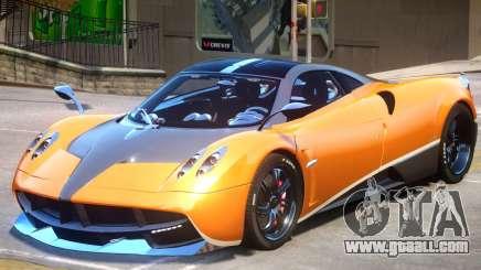 Pagani Huayra V1.2 PJ for GTA 4