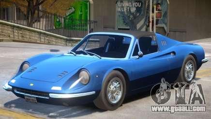 1972 Ferrari Dino V1 for GTA 4